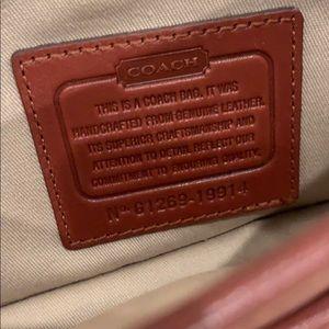 Coach Bags - Coach Brown Leather Crossbody Bag